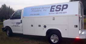 electronic service provider van