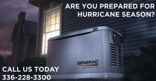 Benefits of a Backup Generator in Chapel Hill